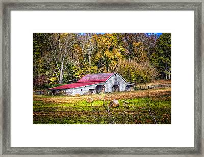 Autumn In The Smokies Framed Print