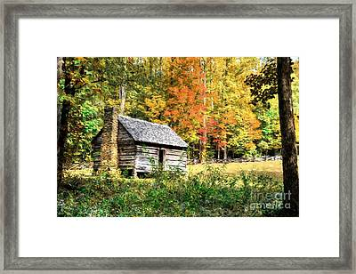 Autumn In The Smoky Mountains # 2 Framed Print