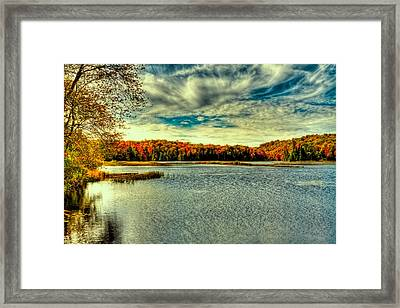 Autumn In Thendara Framed Print by David Patterson