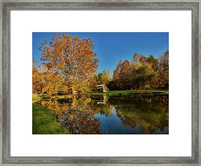 Autumn In West Virginia Framed Print by L O C