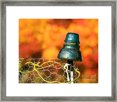 Autumn Insulator Framed Print