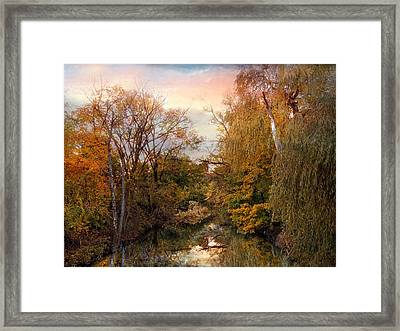 Autumn Invitation Framed Print by Jessica Jenney