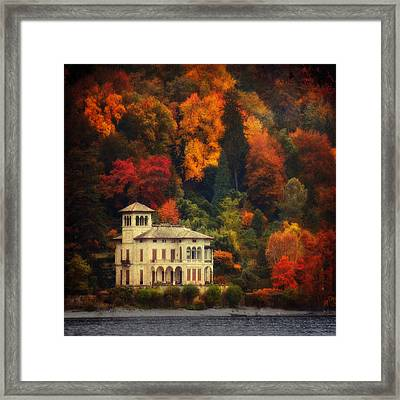 Autumn Is My Garden Framed Print