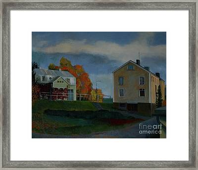 Autumn Framed Print by Jukka Nopsanen