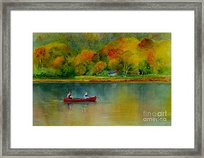 Autumn Framed Print by Karen Fleschler