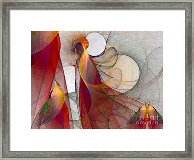 Autumn Framed Print by Karin Kuhlmann