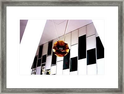 Autumn Lamp Shade Framed Print by Jez C Self