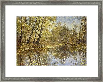 Autumn Landscape Framed Print by Andrey Soldatenko