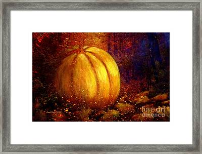 Autumn Landscape Painting Framed Print