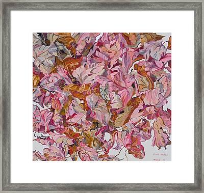 Autumn Leafes Framed Print by Vitali Komarov