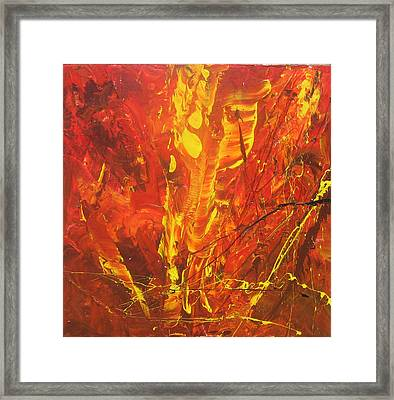 Autumn Leaves Framed Print by Carrie Allbritton