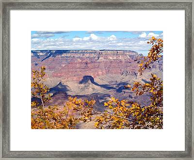 Autumn Leaves Framed Print by Carrie Putz