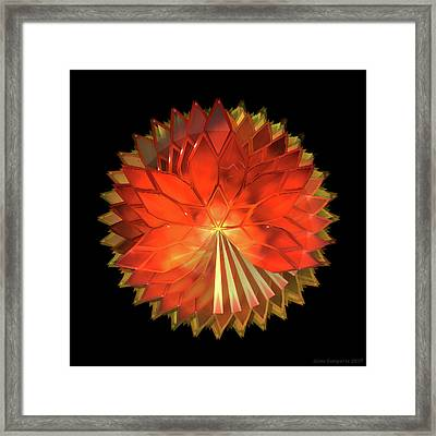 Autumn Leaves - Composition 2 Framed Print