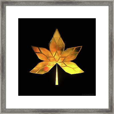 Autumn Leaves - Frame 200 Framed Print