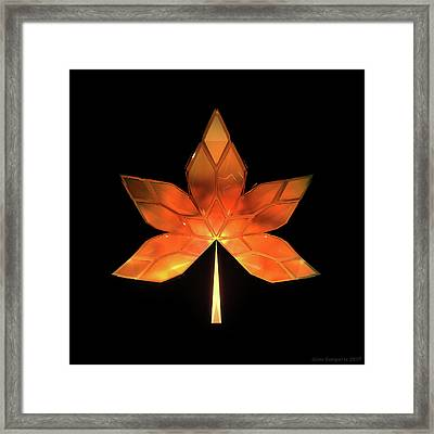 Autumn Leaves - Frame 260 Framed Print
