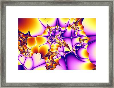 Autumn Leaves Framed Print by Gale Lukas