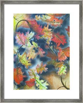 Autumn Leaves Framed Print by Scott Murphy
