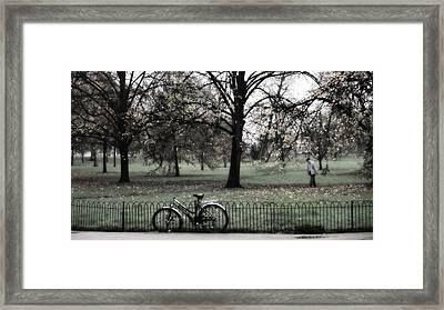 Autumn Life Framed Print by Glenn DiPaola