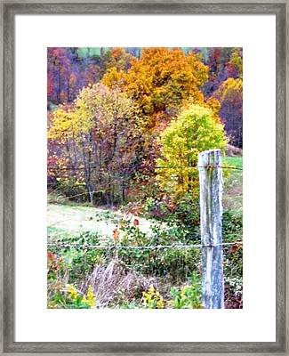 Autumn Framed Print by Linda Henriksen