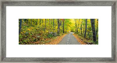 Autumn, Macedonia Brook State Park Framed Print by Panoramic Images