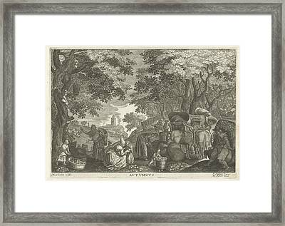 Autumn Framed Print by Celestial Images