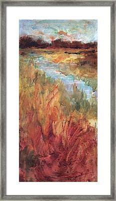 Autumn Marsh Framed Print