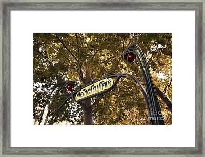 Autumn Metropolitan  Framed Print by Rob Hawkins