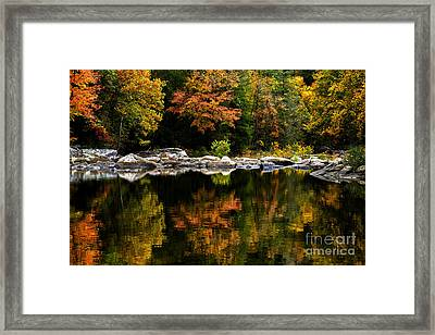Autumn Middle Fork River Framed Print by Thomas R Fletcher