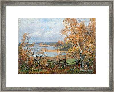 Autumn Mood Framed Print by Celestial Images