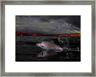 Autumn Morn Framed Print by Brian Pelkey