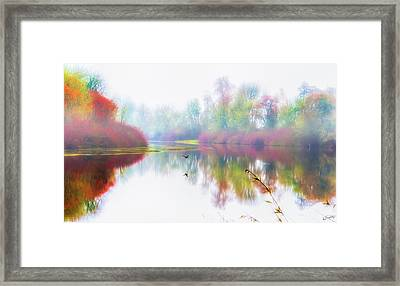 Autumn Morning Dream Framed Print