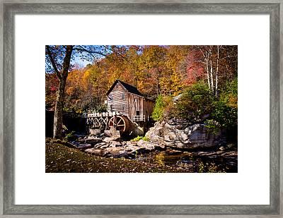 Autumn Morning In West Virginia Framed Print by Jeanne Sheridan