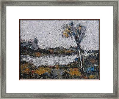 Framed Print featuring the painting Autumn Morning by Pemaro