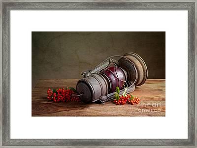 Autumn Framed Print by Nailia Schwarz