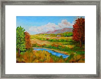 Autumn Nature Framed Print