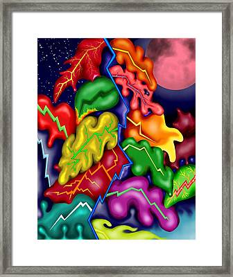 Autumn Night I Framed Print