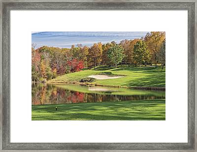 Autumn On Druid Hills Framed Print