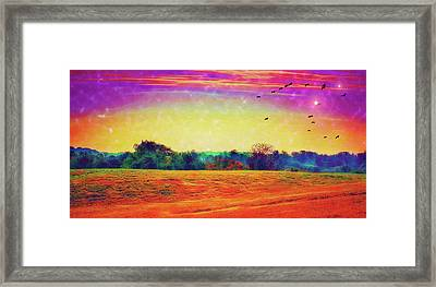 Autumn On Earth Two Framed Print