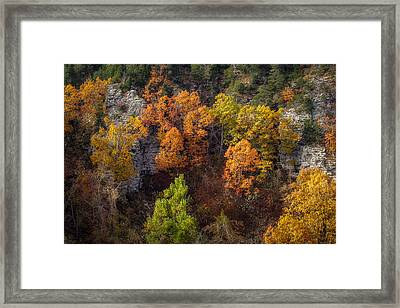 Autumn On Mount Magazine Framed Print by James Barber