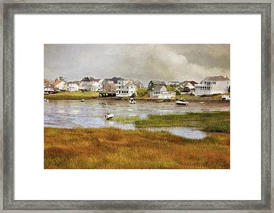 Autumn On The Basin Framed Print