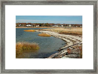 Autumn On The Bass River II Framed Print