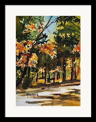 Natchez Trace Parkway Paintings Framed Prints