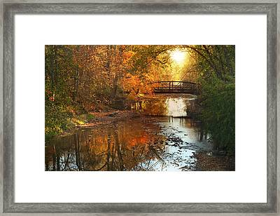 Autumn Over Furnace Run Framed Print