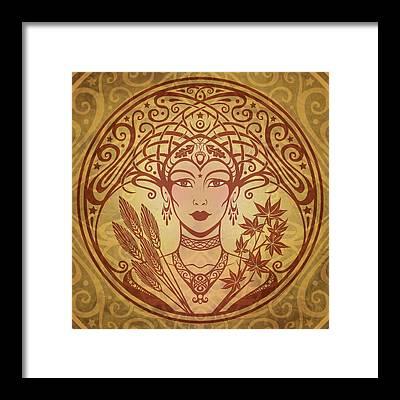 Goddess Framed Prints