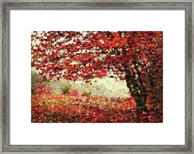 Autumn Radiance Impressionism Wall Art Framed Print