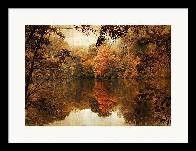 Ladnscape Digital Art Framed Prints