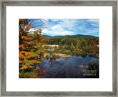 Autumn Reflection Framed Print