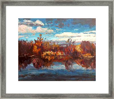 Autumn Reflection Framed Print by Brian Simons