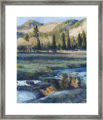 Autumn Reflections Framed Print by Billie Colson