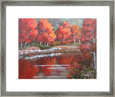 Autumn Reflexions 2 Framed Print